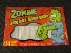 Zombie Gummy Candy. (Dollar Store)