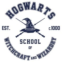 """""""Harry Potter, Hogwarts Grad T-Shirt"""" Stickers by Harry Potter Shirts, Stickers Harry Potter, Arte Do Harry Potter, Harry Potter Drawings, Harry Potter Decor, Harry Potter Hogwarts, Starbucks Cup, Starbucks Tumbler, Silhouette Cameo Projects"""
