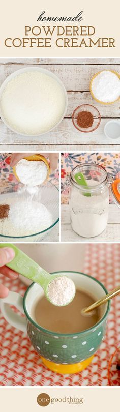 Learn how to make a low-cost homemade powdered creamer that tastes better than store-bought. Plus, you can easily customize it to fit your tastes!