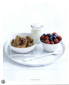 Muesli van Quinoa -  Fresh en light, Donna Hay #Breakfast #fresh #tasty