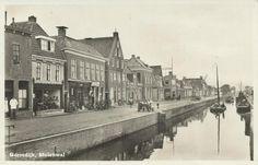 Gorredijk - Molenwal - poststempel 1950 - Uitgave Gorredijkster Boekh. W. de Visser, Gorredijk, Nadr. verb.