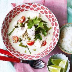 Thai Green Coconut Fish Curry