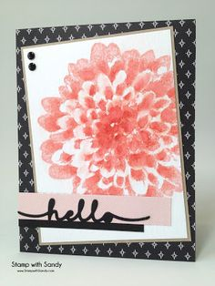 Stamp with Sandy: Hello Dahlia, SIP43