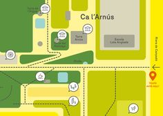 Design and creative direction projects's archive Barcelona – Clase Bcn Map Artwork, Parcs, Signage, The Good Place, How To Plan, Design, Prince Edward, Art Direction, Barcelona