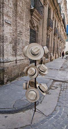 Hats For Sale in Havana, Cuba