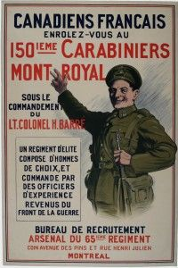 Recruitment and Conscription - Voluntary Recruitment | Canada and the First World War