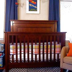 d133b16871a93 Boys Nursery Design - eclectic - kids - los angeles - A. Peltier Interiors  Baby