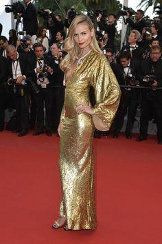 Natasha Poly en robe Michael Kors et bijoux Boucheron | Festival de Cannes 2015