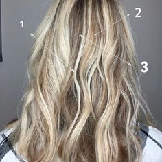 d i m e n s i o n a l incorporating multiples tones and colors into hair will help with grow out and is super low maintenance, plus it's ultra flattering! I typically like to use three colors. This will work with any color you decide to do; I'll explain blondes 1• hilight: super super blonde-the lightest, brightest color 2• midlight: not as bright as the hilight, not as dark as a lowlight. For my blondes I typically will do a more golden, beige or strawberry tone. (Gold here) 3• lowlig...