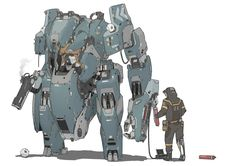 ArtStation - Mecha C-22, Heng Z