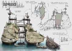ArtStation - shipwreck, Randolph Watson