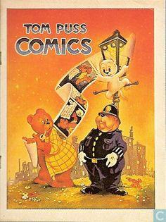 Strips - Bommel en Tom Poes - Tom Puss Comics (Marten Toonder)