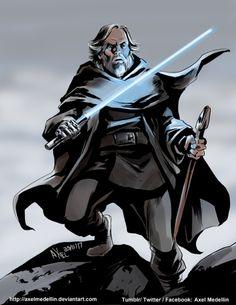 Luke Skywalker - Axel Medellin