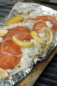 NYT Cooking: This recipe comes from a longtime fisherman from the East End of Long Island, the husband of artist Annie Sessler (who makes fish prints). He prepares bass and bluefish with recipes from his days cooking for crewmates on long dragger trips.<br/><br/>For these bluefish fillets, you may wonder if all the toppings overwhelm the flavor of this dish. Though hardly Le Bernardin ...