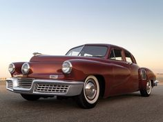For Sale! The Three-Eyed Car of Tomorrow that Never Was  It could have been as iconic as the Mustang, as popular as the Cadillac but only 51 Tuckers were ever made before the factory suddenly closed its doors forever in 1948. The Tucker 48 was the American dream of a small entrepreneur who believed he could go up against the automobile giants at a time when the public was hungry for new forward-thinking design …