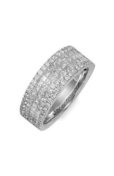 Bony Levy Five Row Diamond Ring (Nordstrom Exclusive) available at #Nordstrom