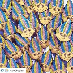 #Repost @jade_boylan  The troll pins are ready to up your #pingame  30mm soft enamel pins with glitter  epoxy coating  rubber clutch back  free candy with every pin  ships worldwide  #Etsy shop link in bio #CandyDollClub #pingamestrong #trollpin #glitter #sparkle #sparklepin #pinsofig #pins #flair #pinstagram #pincollector #pincommunity #pindesign #pindrop #trolldoll #treasuretroll #retro #kitsch #GirlGang #GirlPower #GirlBoss
