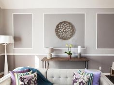 A few shadow boxes can really make a space. Home and Lifestyle Design