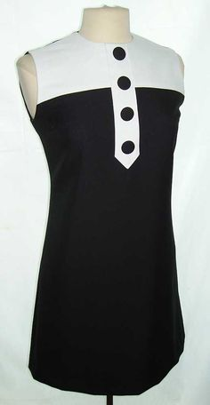 Cute MOD little dress. Want something like this!