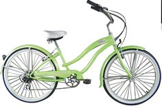 Product: Beach Cruiser  Company: Copacabana Bikes  -I would love to have beach cruiser to use as my transportation! NO need to use a car, the trolley or a bus! Eco-friendly! Great exercise plus great for the environment! So cool! #greendorm