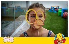 Fiesta Pollito amarillito - accesorios para fotos