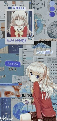 Nao tomori aesthetic wallpaper-!