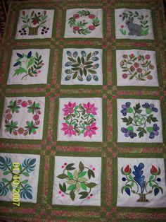 My first Baltimore quilt