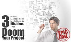 Some people will tell you that there is no such thing as a bad project management methodology. This is probably true but what we can say is that using the wrong methodology for the project in question dooms your project to an inglorious failure. The following are some examples of how this could happen if you choose the wrong approach.