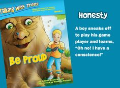 Be Proud character education book for teaching kids honesty