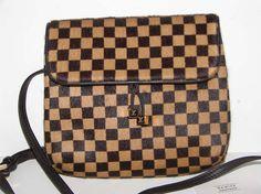 Louis Vuitton Damier Pony Hair Sauvage Gazelle Crossbody Waist Bag