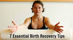 Make sure you take care of your body before and AFTER your pregnancy. Check out these 7 Essential Birth Recovery Tips from Wendy Foster of Mamalates. Wendy is a certified Pilates instructor, fitness specialist & birth recovery expert.
