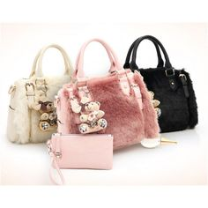 23371d6ed1ba Fashion New Fur Luxury Handbags Women Bags Designer Shoulder Bag Ladies Big  Hand Bags Boston Casual