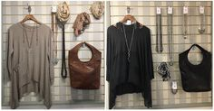 This morning, we're sharing two really lovely displays from of branch, featuring Sparkle jewellery and our favourite leather bags. Leather Bags, Rafting, Sparkle, Jewellery, Shopping, Fashion, Moda, Jewelery
