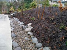 Drainage and Dry Creek Beds installation Path Edging, Dry Creek Bed, Stepping Stones, Paths, Image Search, Beds, Outdoor Decor, Home Decor, Stair Risers