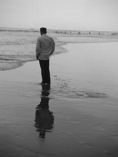 Image gratuite sur Pixabay - Humain, Plage, Mise En Miroir