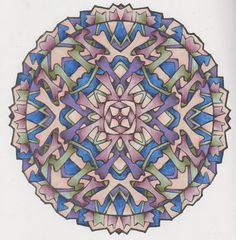 Magical Mandalas 010 done with pencils Art Illustrations, Illustration Art, Creative Haven Coloring Books, Learn To Sketch, Colouring Techniques, Mandala Coloring, Mandala Art, Fractals, Colored Pencils