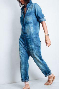 NSF Harlan Mechanic Jumpsuit _Denim Jeans