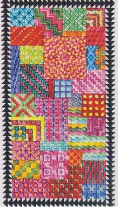 Carnival (counted canvas chart)
