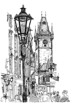 apelwall - 0 results for architecture drawing Architecture Sketchbook, City Architecture, Art Sketchbook, City Sketch, Building Sketch, Ink Pen Drawings, Urban Sketchers, Pen Art, Art Sketches