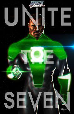Green Lantern by Sahin Düzgün #UniteTheSeven #SkratchJams #DeviantArt