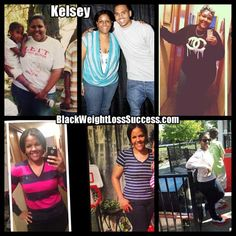 Motivation: Weight Loss Success Story: Kelsey lost 71 pounds  www.blackweightlosssuccess.com