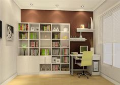 It can cover the entire wall and can be the main storage element in the room. This type of design suits those with large book collections. Make the most of a small and narrow study room by incorporating open shelves and wall-mounted desks.tudy room ideas for small rooms  modern study room ideas  study room decoration ideas  study room interior design ideas  modern study room design gallery  small space study room ideas  how to make a good study room  study room ideas from ikea  study table designs for small space  latest study room design  bedroom and study room combined  study room design tips