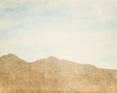 TITLE: Brown Mountains  LOCATION: Nevada  SIZE: 8x10