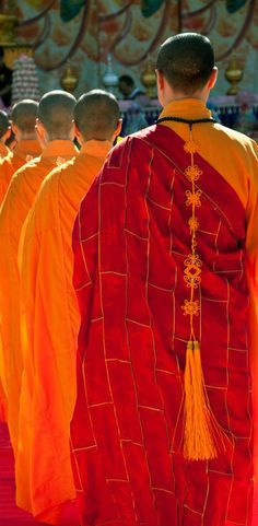 'Buddhist Monks' by Rick Piper Photography on artflakes.com. Stunning colors.
