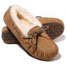 Ugg slippers I want with the tan leather shoe strings
