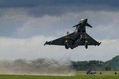 Typhoon take off