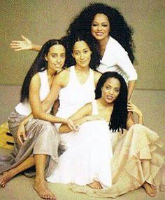 Diana Ross & Daughters Chudney, Tracee & Rhonda