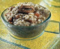 Σουπιές ριζότο Oatmeal, Breakfast, Recipes, Food, The Oatmeal, Morning Coffee, Rezepte, Meals, Ripped Recipes