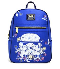 Loungefly Star Wars Storm Trooper Mini Backpack for sale online Canvas Backpack, Mini Backpack, Laptop Backpack, Black Backpack, Disney Purse, Disney Handbags, Stormtrooper, Novelty Bags, Star Wars