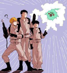 Reimob(Comics y doujinshis) - [3] - Wattpad Manga Anime, Anime Art, Otaku Anime, One Punch Man, Chibi, Mob Psycho 100 Anime, Mob Physco 100, Ghost Busters, Hitman Reborn